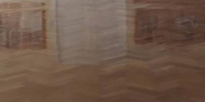 Pine herring bone block floor - Kidlington