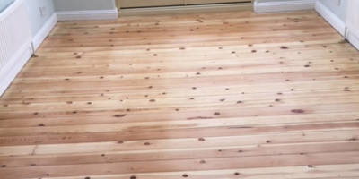 Sanding of Pine Boards in Steverton