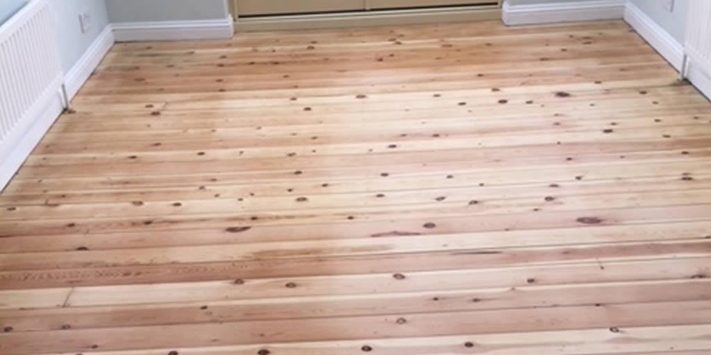 Sanding of Pine Boards in Steverton