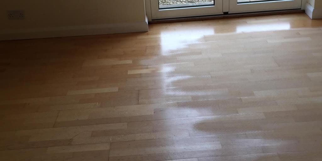 Floor sanding and sealing - Radley