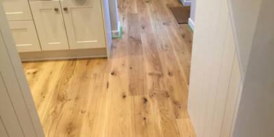 Oak Engineered Flooring Fitted in Wallingford