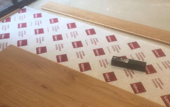Oak Floor Fitting in Oxford