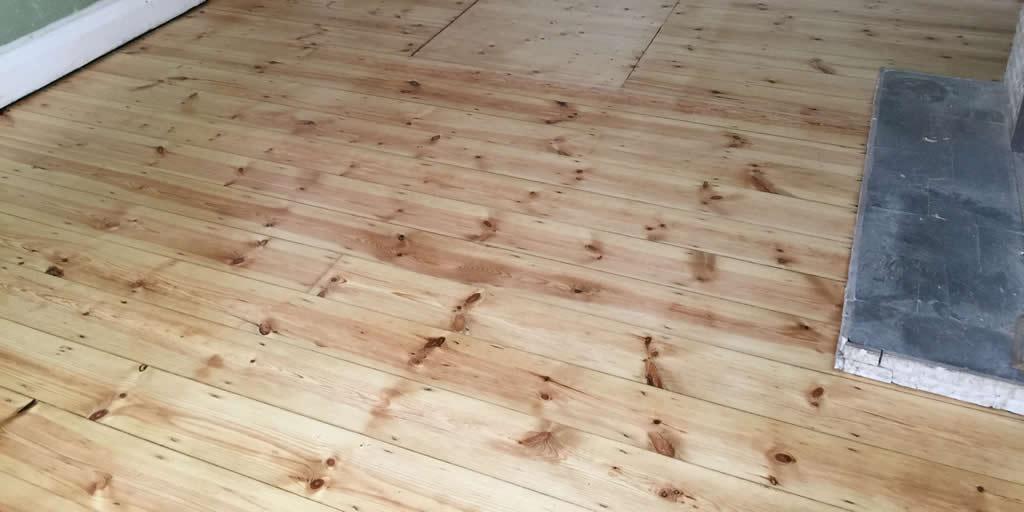 Pine floor in Oxford