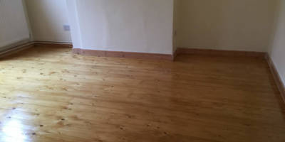 Sanding Sealing of Pine Boards in Wantage