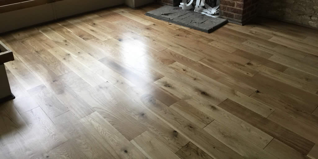 Solid Oak Floor in Eynsham.