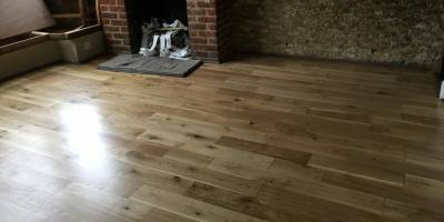 Solid Oak Flooring in Eynsham.