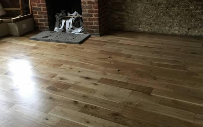Solid Oak Flooringin Eynsham.