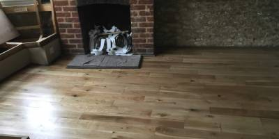 Solid Oak Flooris in Eynsham.