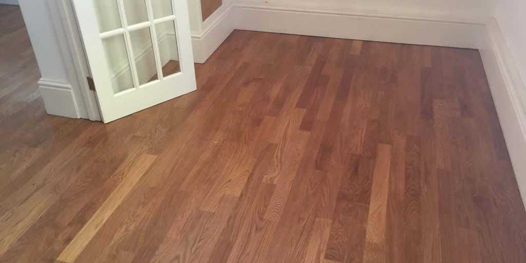 Sanding and Oiling of Oak Flooring Swindon