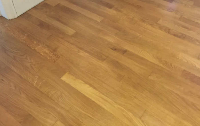 Sanding and Oiling of Oak Flooring Swindon