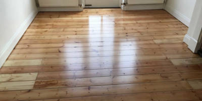 Floor Sanded Sealed in Botley