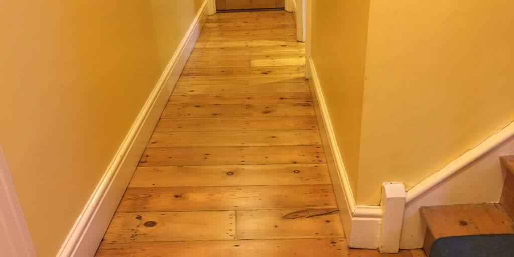 Pine Floor Sanded Oxford
