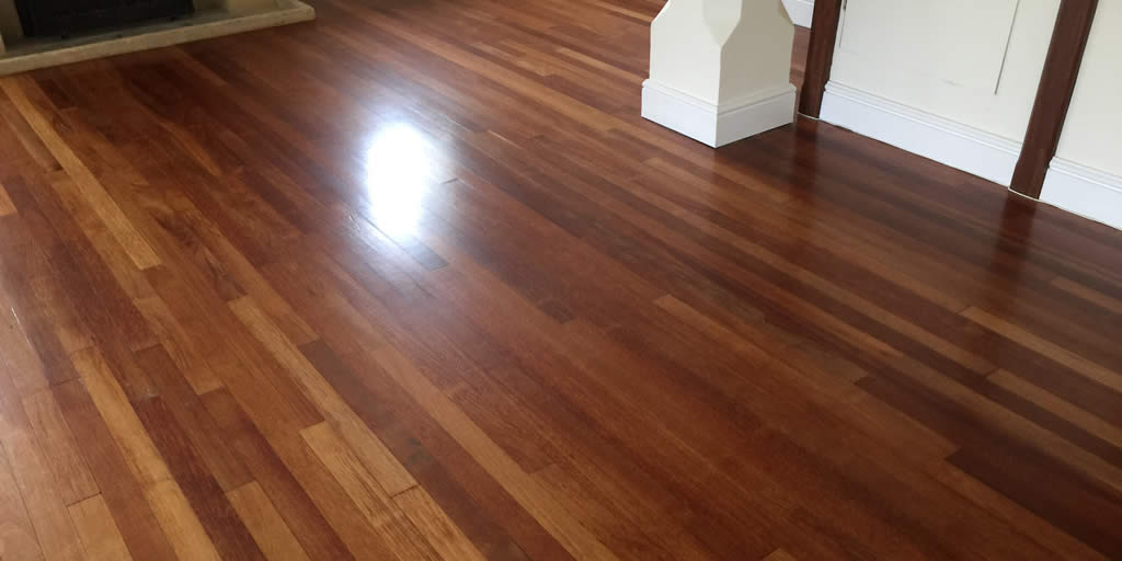 Sanding and Finishing of a Merbau floor near Buford