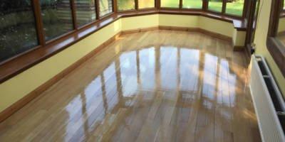 Solid Oak Floor Botley