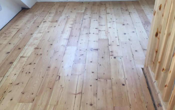 Reclaimed Pine Flooring in Oxford
