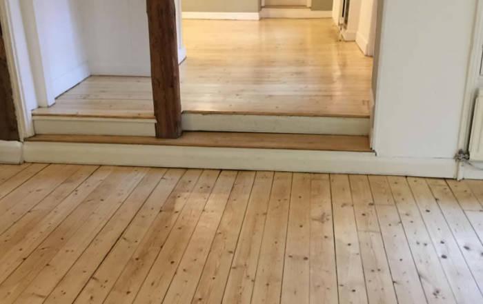 Pine Floorboards in Wallingford