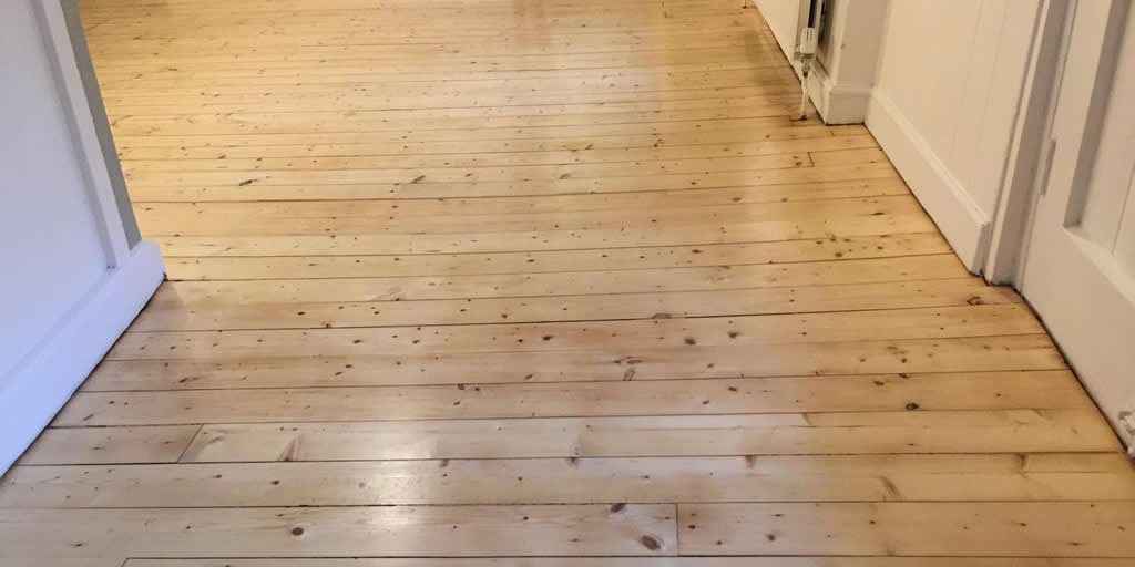 Pine Floorboards in Wallingford