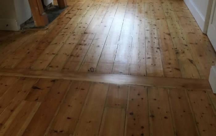 Pine flooring Sanding Oxford