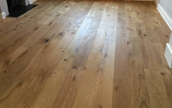 Supply and Fit of Kahrs Oak Oiled Flooring in Oxford